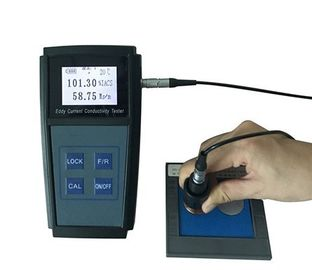 Eddy Current Handheld Electrical Conductivity Meter For Water Metals Aluminum