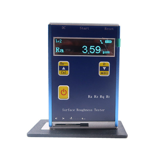 Laser Roughness Tester / Roughness Testing Machine 3.7v Li Ion Battery Support supplier