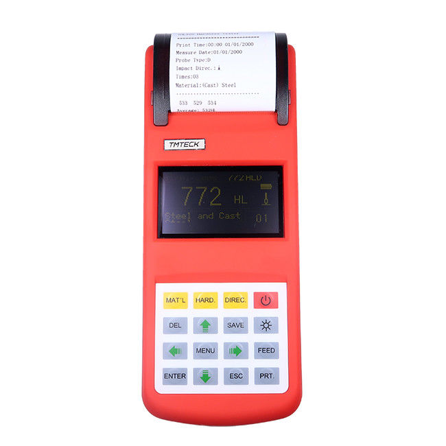 Leeb Digital Hardness Tester Die Cavity Of Molds Heavy Work Piece 3 Inch Screen Oled 2 Value Show supplier